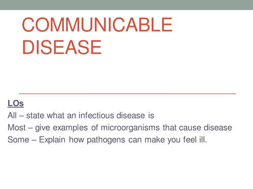 Communicable Disease New Aqa Gcse By Lbould Teaching Resources Tes