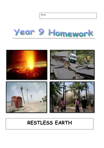 Homework booklets for AQA A New Spec 2016