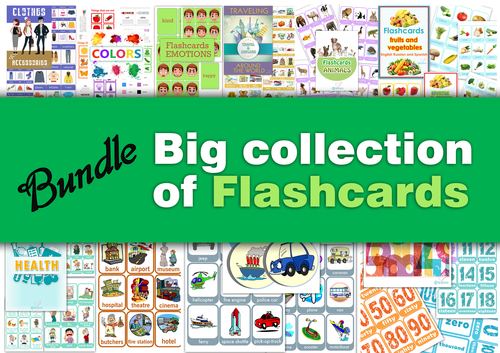 Big collection of Flashcards