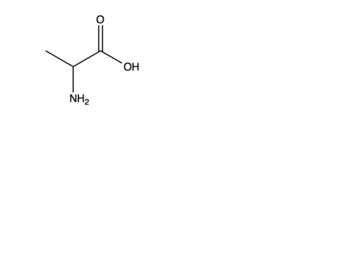 Amino Acids Clip art (Skeletal Formula)