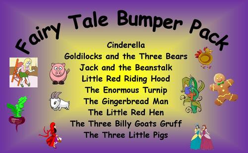 Fairy Tale Bumper Pack. Bargain.