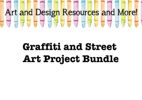 Graffiti and Street Art Project Bundle