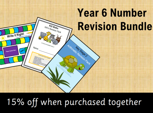 Year 6 Maths (Number) Revision Bundle