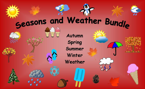 Seasons and Weather Bundle Bargain