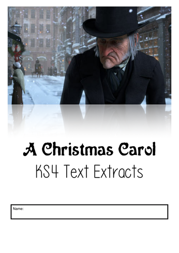 A Christmas Carol: Text Extracts and Questions