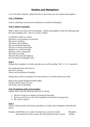 moreover  moreover Free Simile Worksheets Similes And Metaphors Metaphor Kids as well Englishlinx     Metaphors Worksheets in addition  moreover  furthermore Similes and Metaphors worksheet by HMBenglishresources1984 besides Englishlinx     Metaphors Worksheets additionally  together with  besides Simile Worksheets Free Grade Metaphor And Worksheet Best Images Of furthermore Shienny Martha Santoso  shiennym  on Pinterest also Simile And Metaphor Ex les Simile And Metaphor Ex les Pdf also Excel Personification Worksheets Metaphor Poetry Lesson Ks2 as well metaphor worksheets furthermore Metaphor Worksheets Write Simile And Elementary Free Grade Similes. on similes and metaphors ks2 worksheets