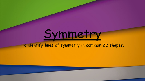 Symmetry - An Introduction