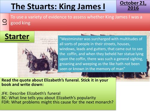 James I: The foundation of the Stuarts