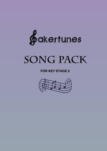 Song Pack for Key Stage 2