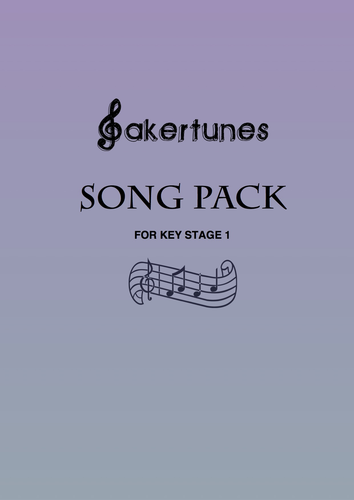 Song Pack for Key Stage 1