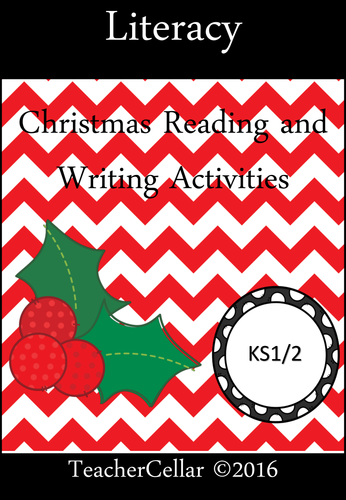 Christmas Reading and Writing Book