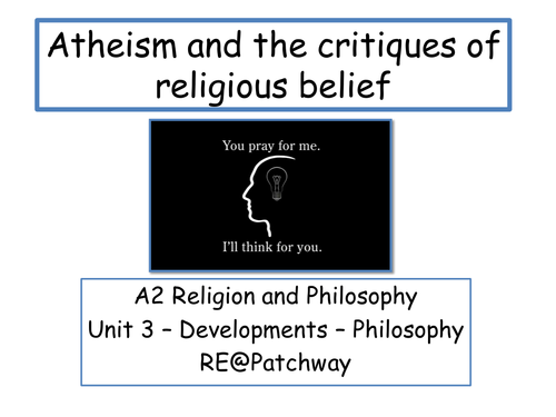 Introduction to atheism