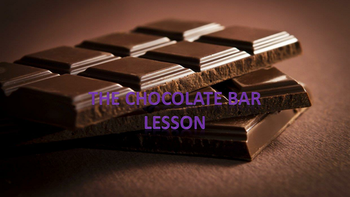 The Chocolate Bar Design Lesson