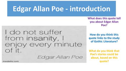 Edgar Allen Poe - 5 lessons
