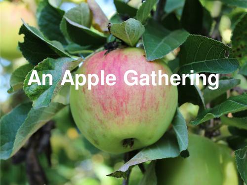 Christina Rossetti An Apple Gathering