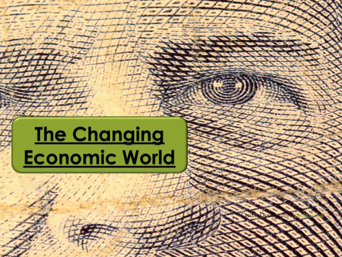 The Changing Economic World- What does global development look like?
