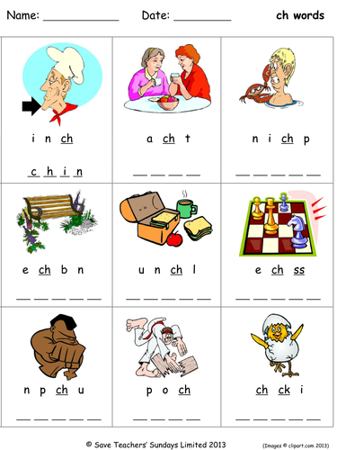 Phonics Worksheets Unscramble The Letters By