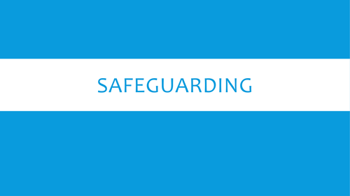 Safeguarding - ideal CPD for staff