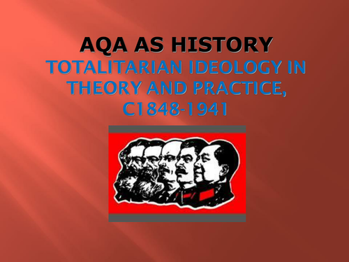 PP INTRODUCTION TO THE TOTALITARIAN STATE