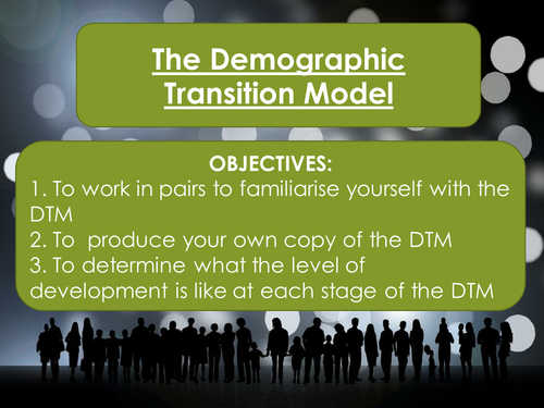 The Changing Economic World- The Demographic Transition Model