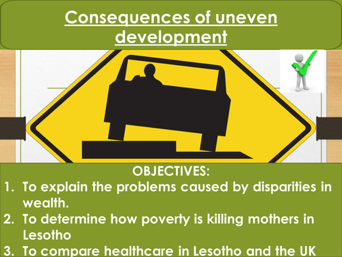 The Changing Economic World- Consequences of uneven development