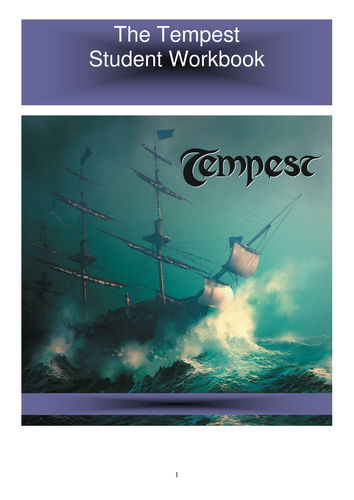 The Tempest - Shakespeare Workbook
