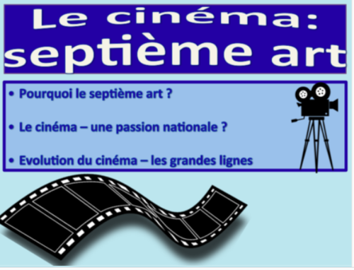 Le cinéma: septième art / New AQA French / AS Level / 2016