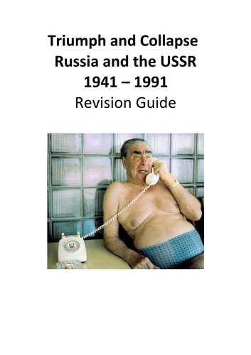 Triumph and Collapse  Russia and the USSR 1941 – 1991