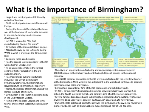 Urban Futures - Birmingham Case Study (Part 1)