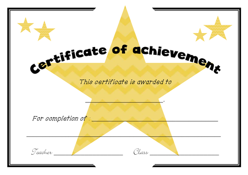 Certificate with editable version