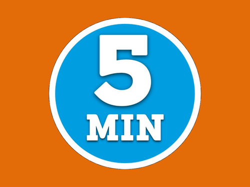 powerpoint timers 5 minutes or 30 seconds by markmolloy teaching