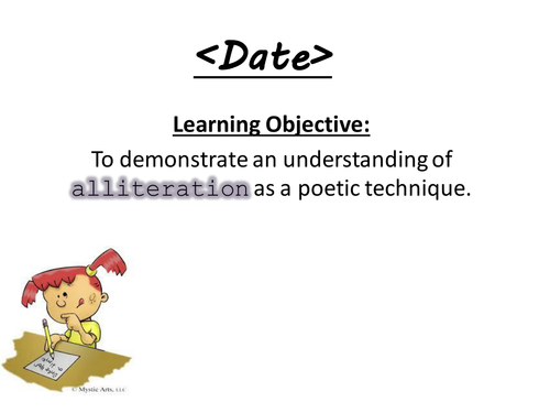 Poetry - Alliteration PPT