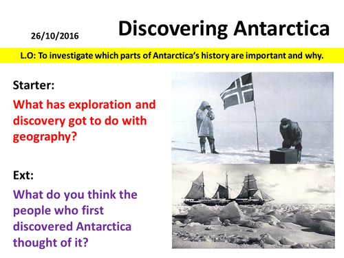 Antarctica - The History of Antarctica