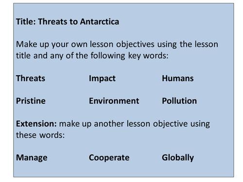 Antarctica - Threats to Antarctica
