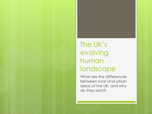 Intro: Urban vs Rural UK