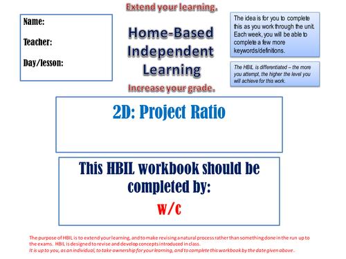 Ratio Analysis Homework