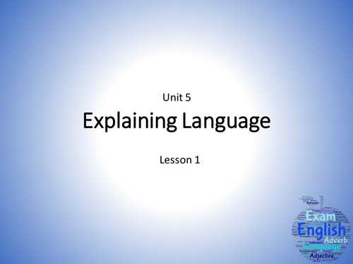 WJEC Eduqas GCSE English Language (New Spec) Unit 5 - Two Lessons - Stephen King