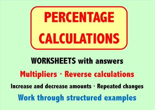 Percentage Calculations