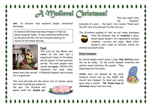 Medieval Christmas - History of Christmas
