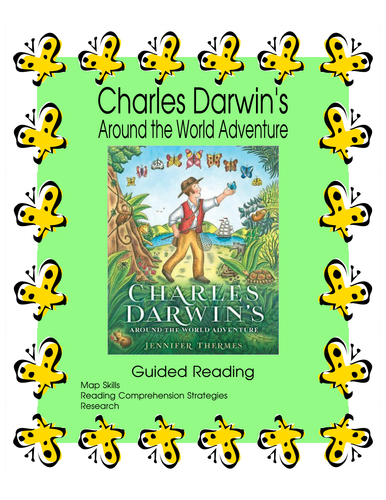 Charles Darwin's Around the World Adventure - Guided Reading