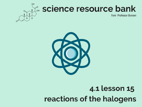 AQA GCSE chemistry - Unit 1 - Lesson 16 The transition elements and comparison with group 1