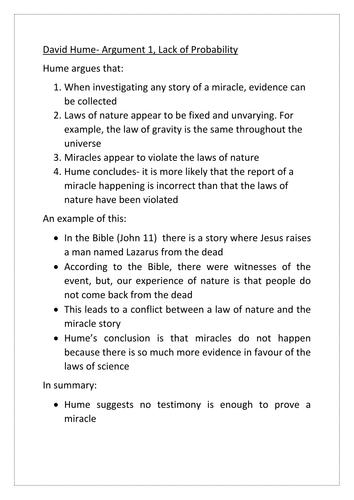 Philosophy of religion essay