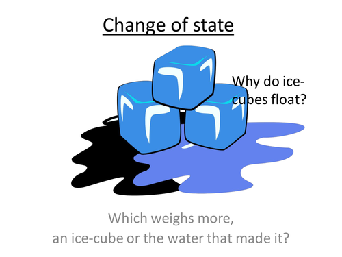 GCSE Science / Physics - Change of state (PowerPoint and Lesson Plan)