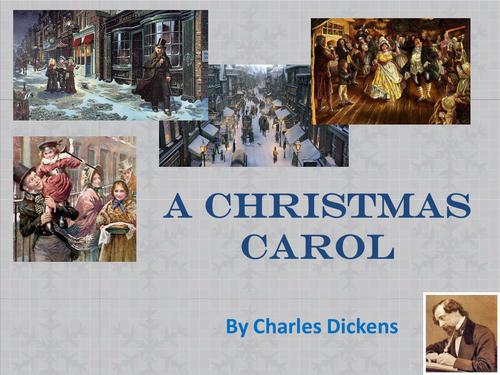 A Christmas Carol AQA LIT GCSE resources