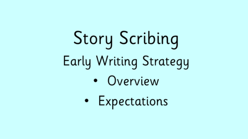 Story Scribing Resources