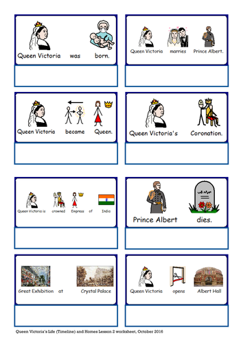 Queen Victoria PowerPoint and accompanying activity and worksheet. SEN, autism