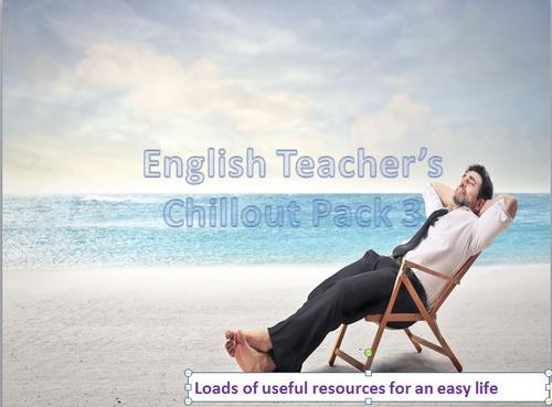 English Teacher's Chillout Bundle 3