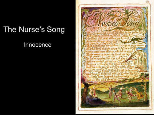 an analysis of songs of innocence by william blake The chimney sweeper is the title of a poem by william blake, published in two parts in songs of innocence in 1789 and songs of experience in 1794.