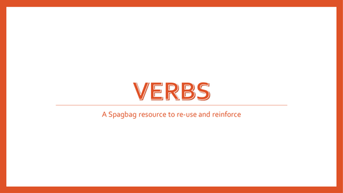 verbs and tenses