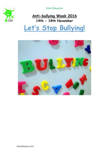 Anti Bullying Week 2017